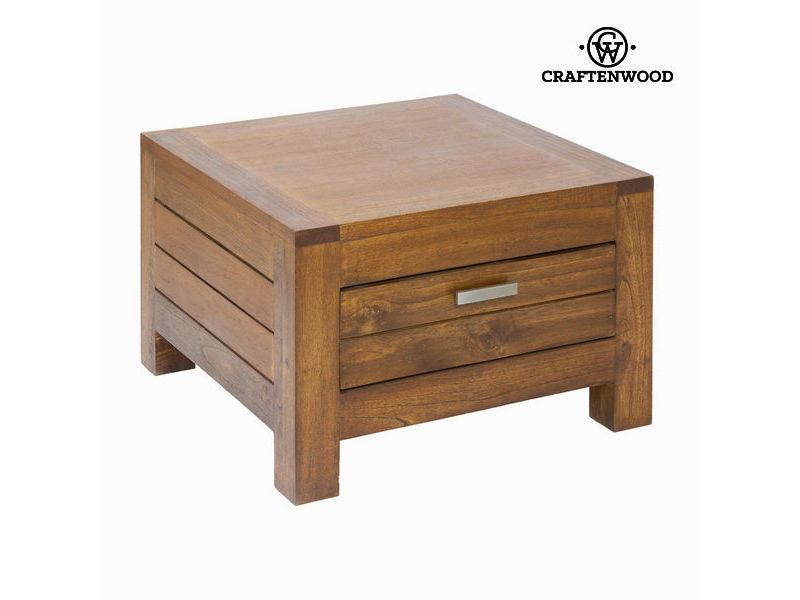 Distingue Table D Angle Ohio 1 Tiroir Collection Be Yourself By Craftenwood Vente De Sans Marque Conforama