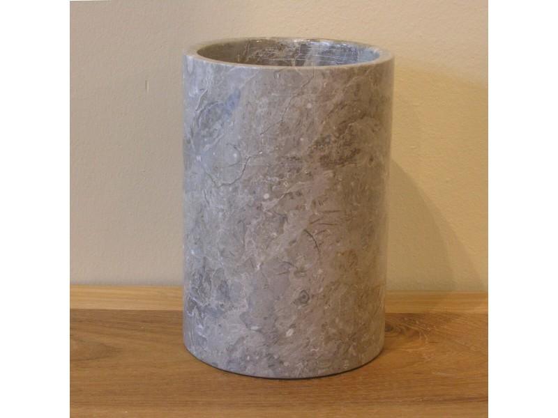 Ensemble gobelet porte savon en marbre gris 33024 vente for Ensemble salle de bain porte savon