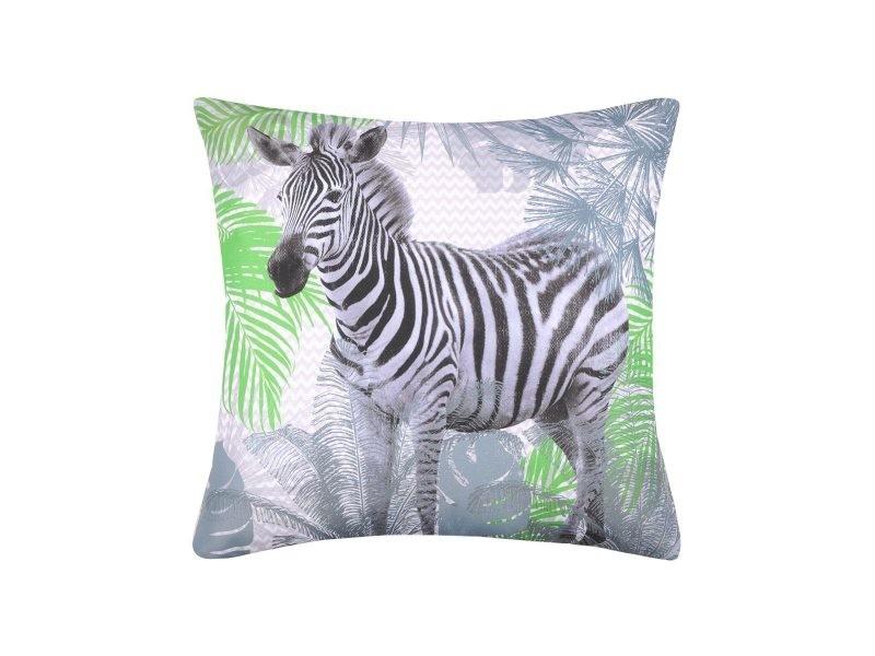 Coussin imperméable 40x40 cm zebra