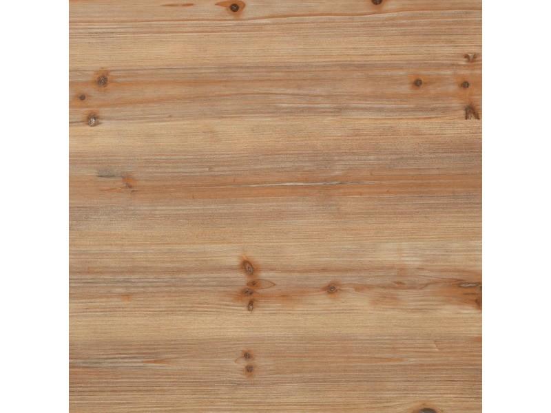 Icaverne - bureaux reference bureau à piédestal unique bois de sapin et acier 100x50x76 cm