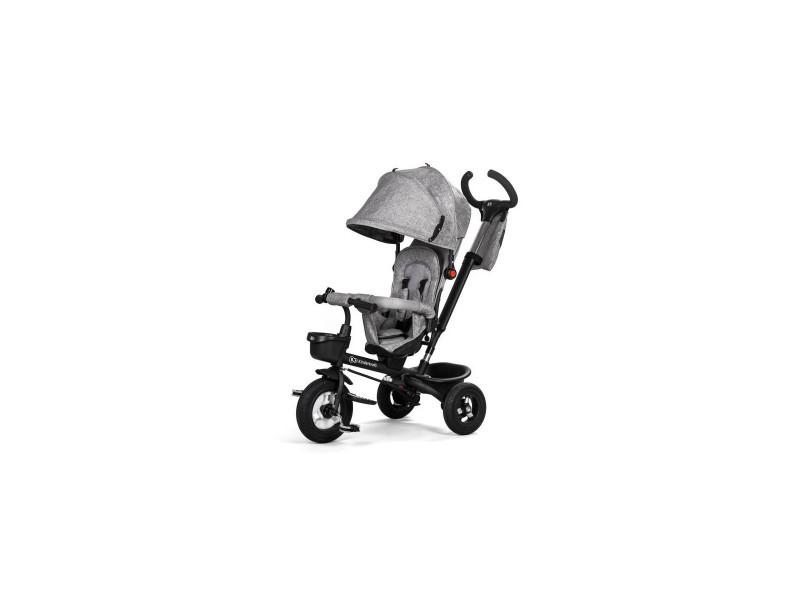 Kinderkraft tricycle aveo gris - 3 roues - evolutif - pliable ... 33479b8a3ed