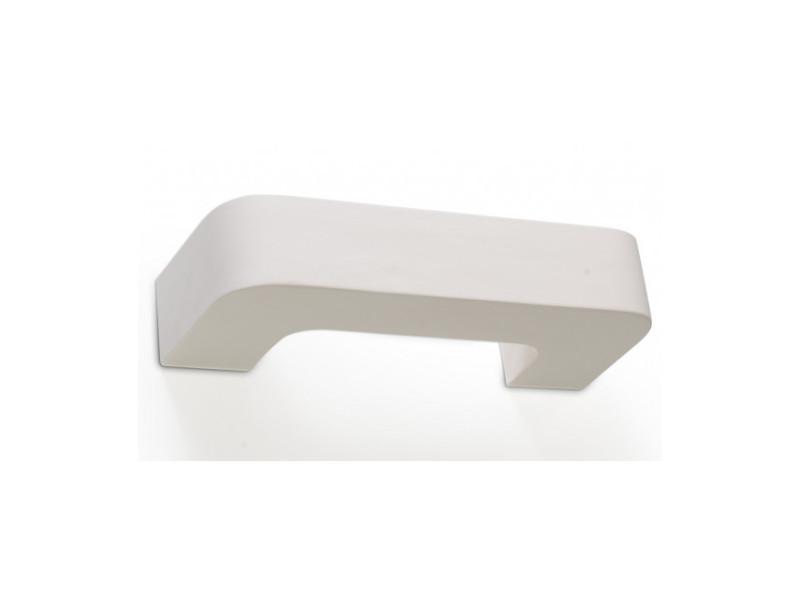Applique murale magnet céramique blanc 1 ampoule