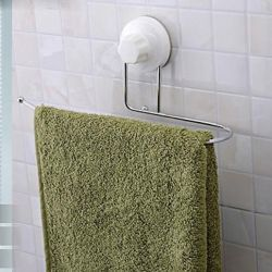 Porte-serviettes contemporain  en inox et abs