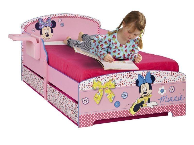 lit enfant disney minnie mousse conforama. Black Bedroom Furniture Sets. Home Design Ideas
