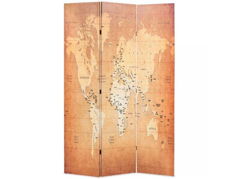 Carte Du Monde Jaune.Magnifique Meubles Reference Moscou Cloison De Separation