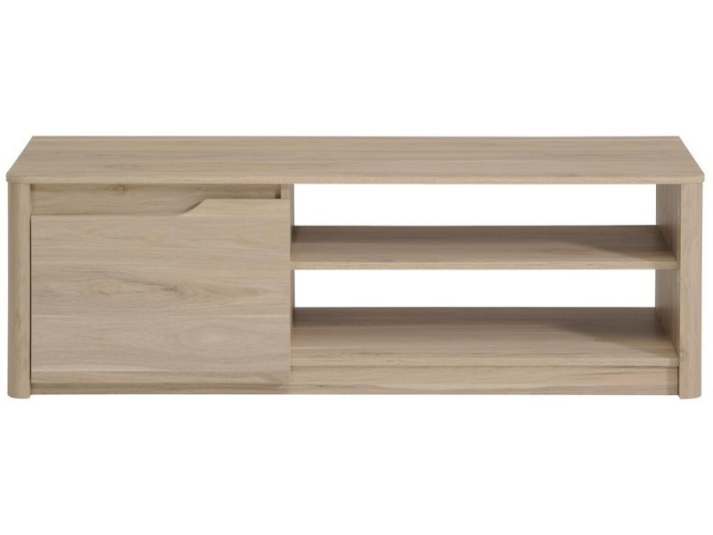 meuble tv peter 136 x 40 x 42 cm beige vente de habitat et jardin conforama. Black Bedroom Furniture Sets. Home Design Ideas