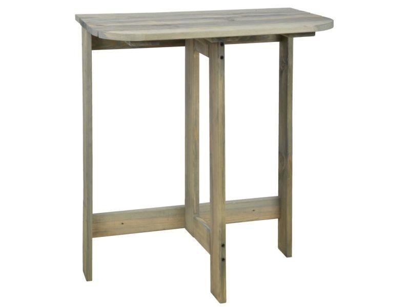 Esschert design table murale rabattable ng66 421291 - Vente de ...