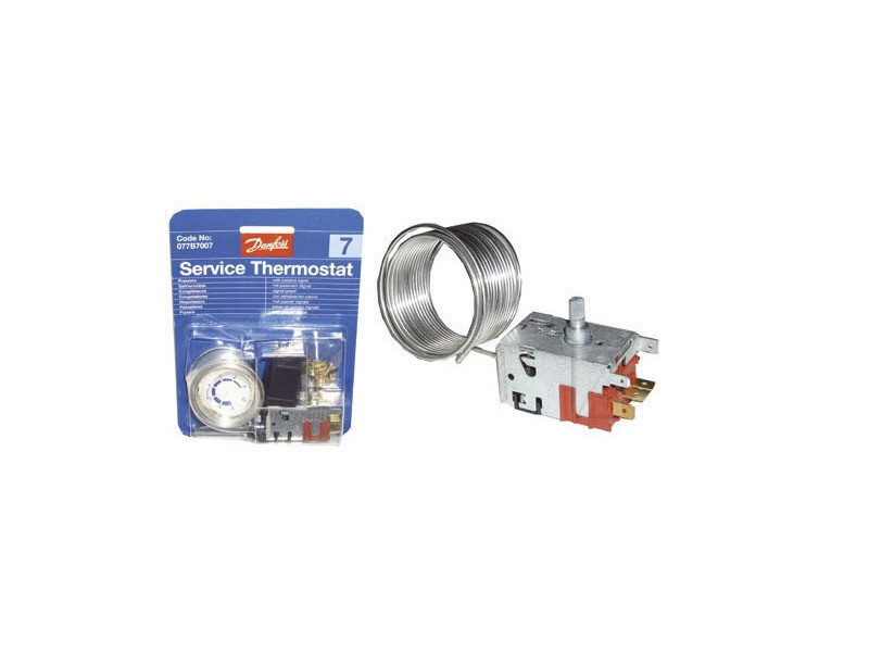 Thermostat danfoss n° 7 - 077b7007 reference : as0003933