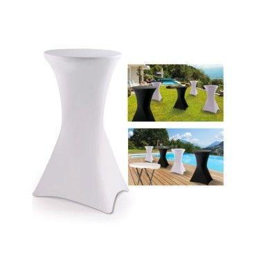 Housse blanche pour table haute pliante mange debout vente de id market conforama - Mobilier jardin centrakor colombes ...