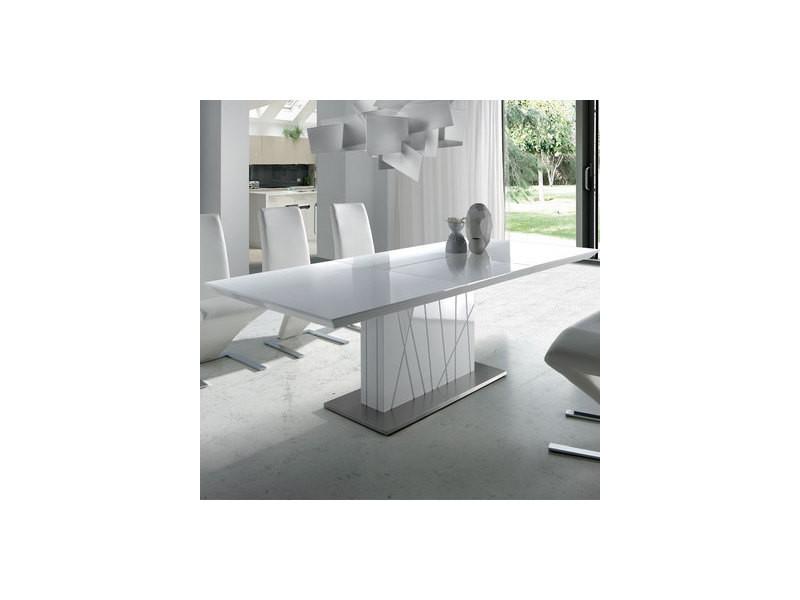 Table À Manger Vente De Blanc Extensible Design Elodie Laqué 2bHIe9WDEY