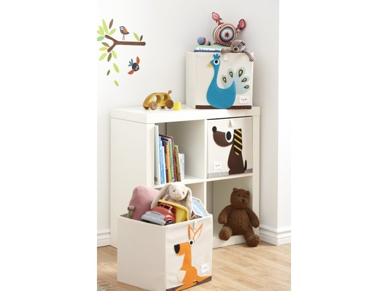 cube de rangement mes animaux pr f r s mouton vente de 3. Black Bedroom Furniture Sets. Home Design Ideas