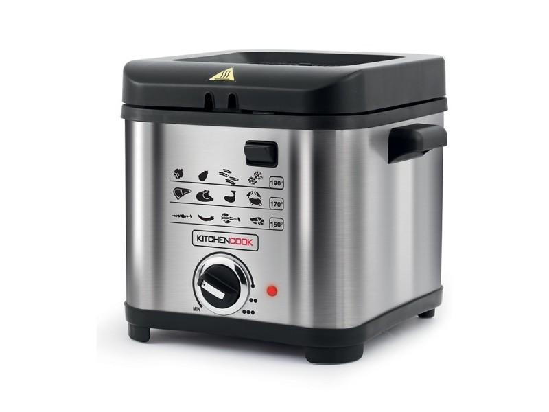 Kitchen cook -fr1010_inox - friteuse - 1,5l - 900w - inox KIT3662738020308
