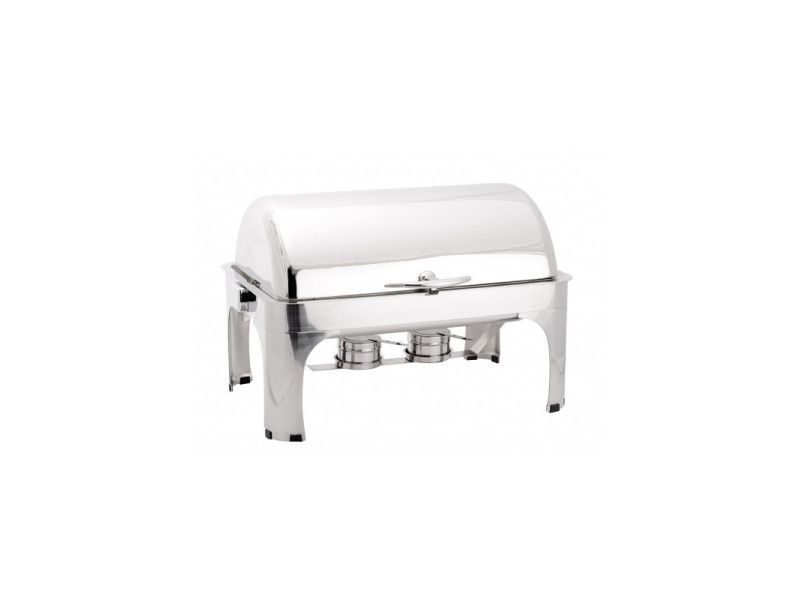 Chafing dish gn 1/1 avec couvercle rabattable 180° - atosa -