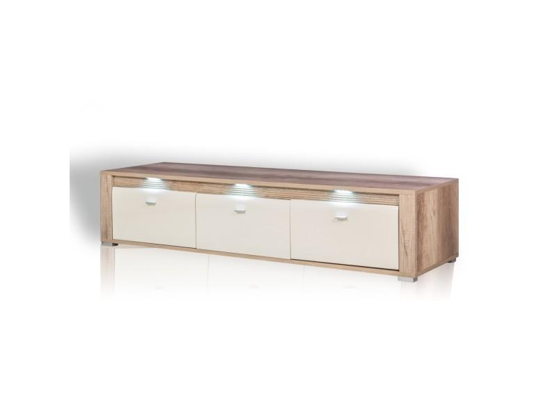 meuble tv campari led vente de meuble tv conforama. Black Bedroom Furniture Sets. Home Design Ideas