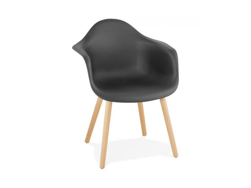 Fauteuil design cloud black 50x62x80 cm
