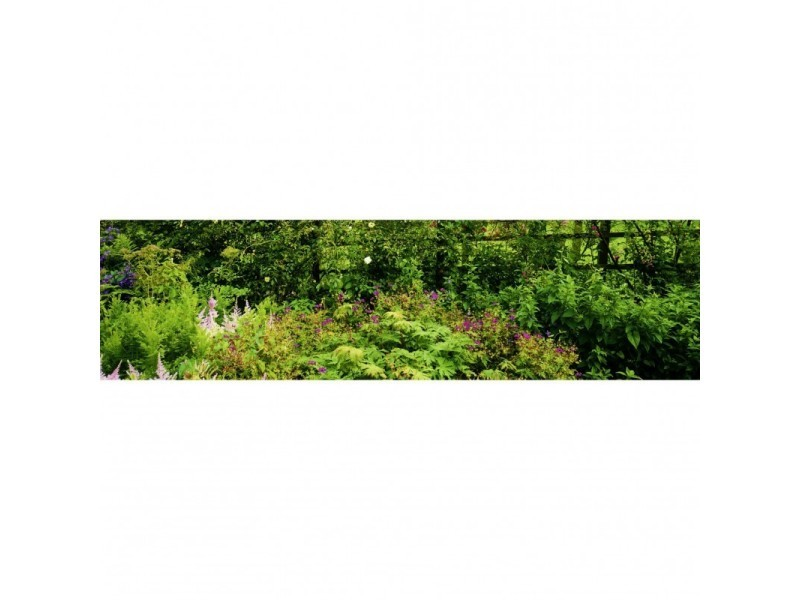 Brise vue 100% occultant jardin violet 300 x 80 cm - canisse brise vent pour clôture de jardin