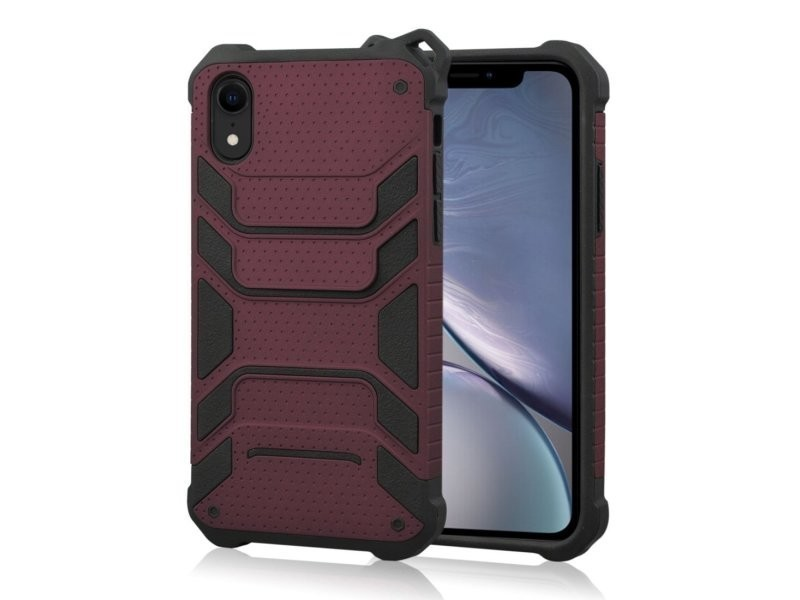 coque iphone xr camouflage rouge