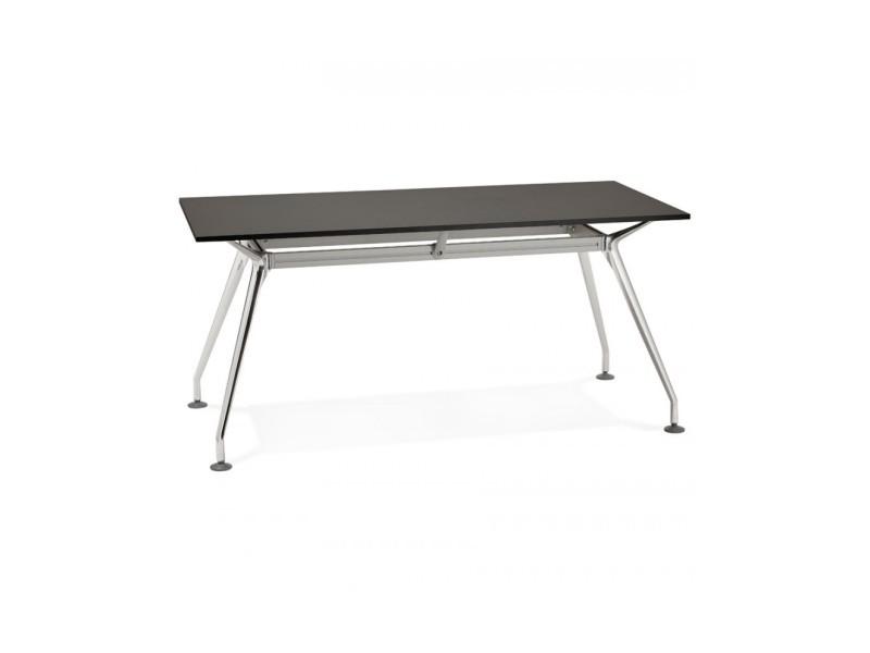 Bureau design krush 160 black 80x160x74,5 cm