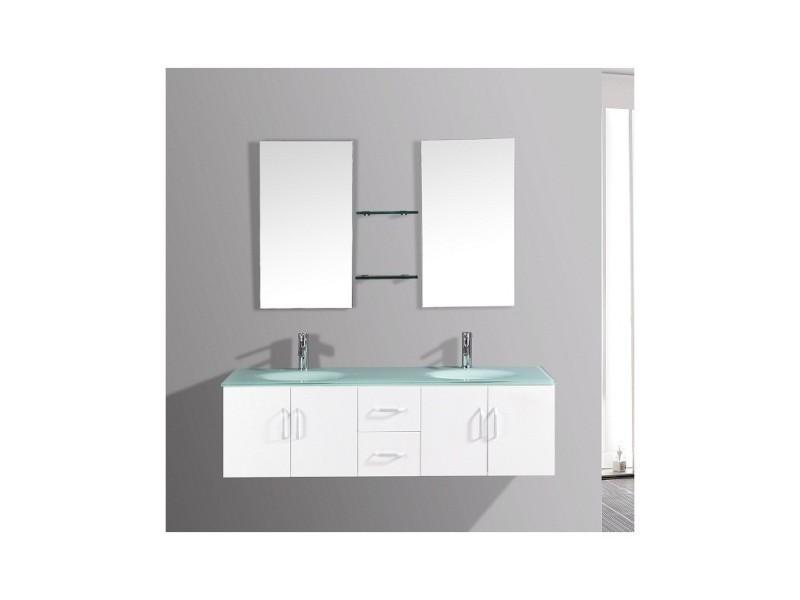 Magnifique ensemble meuble salle de bain \'europe b\' 2 vasques 2 ...