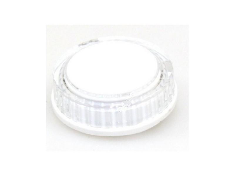 Bouton blanc programmateur pour lave vaisselle brandt