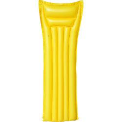 Matelas pneumatique plouf - jaune mat