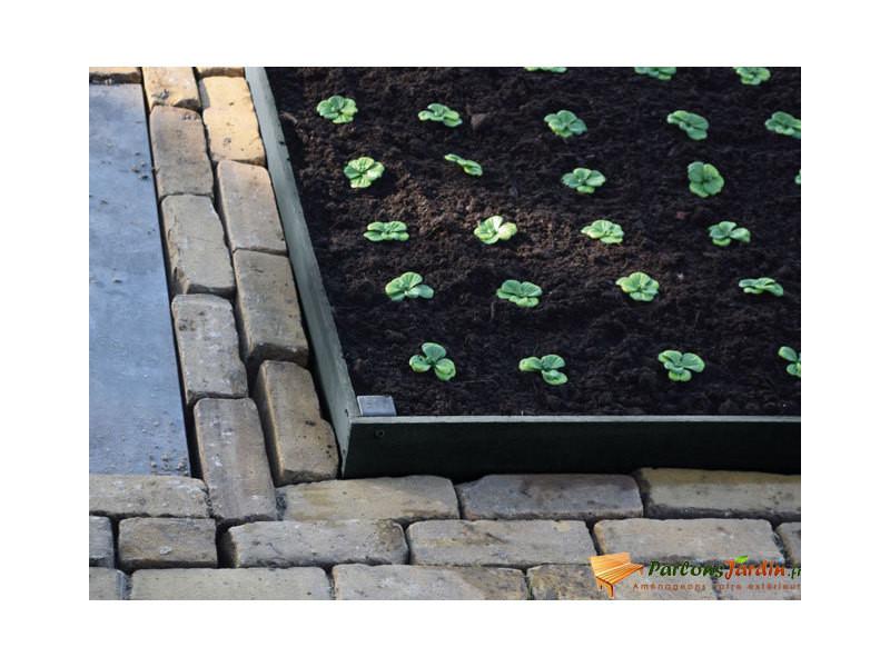 Bordure de jardin en pvc borderfix à planter h14cm x l2m - Vente de ...