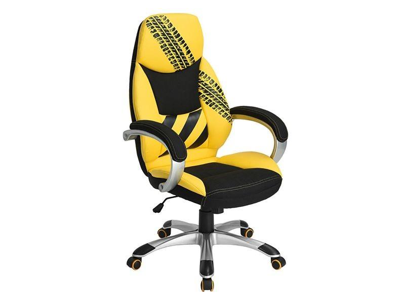 Track fauteuil de bureau jaune et noir vente de altobuy