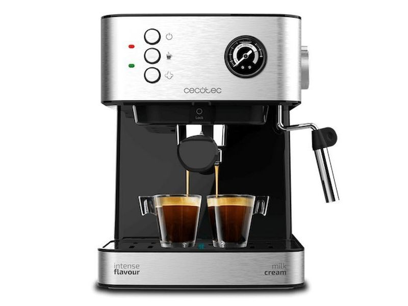 Cafetières admirable café express arm cecotec power espresso 20 professionale 1,5 l argenté noir