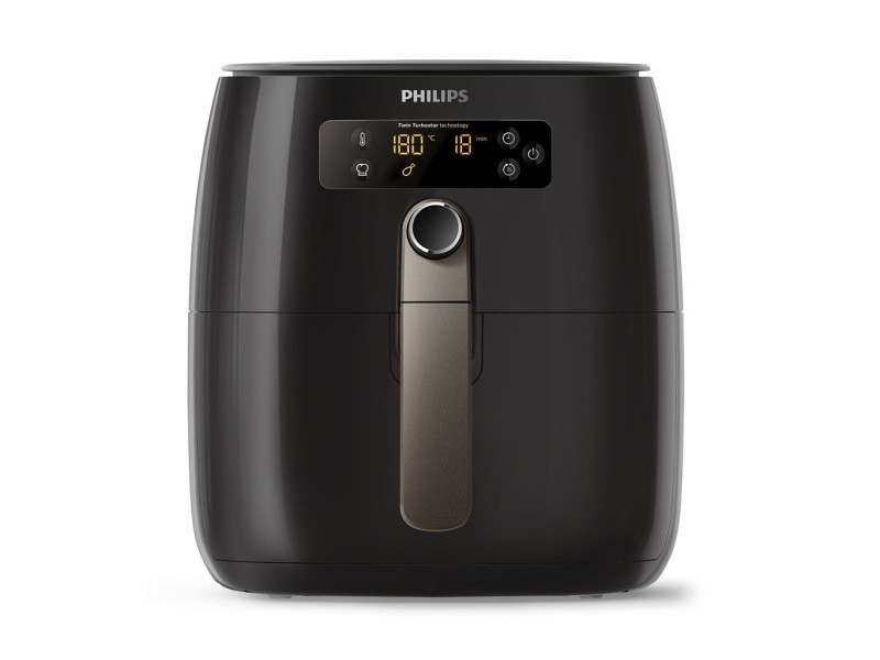 Philips avance collection airfryer friteuse saine noir 1500w hd9741/10