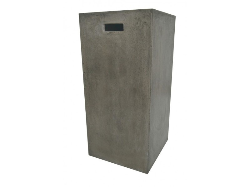 Sellette petit format en cube en béton - style contemporain - design moderne et industriel