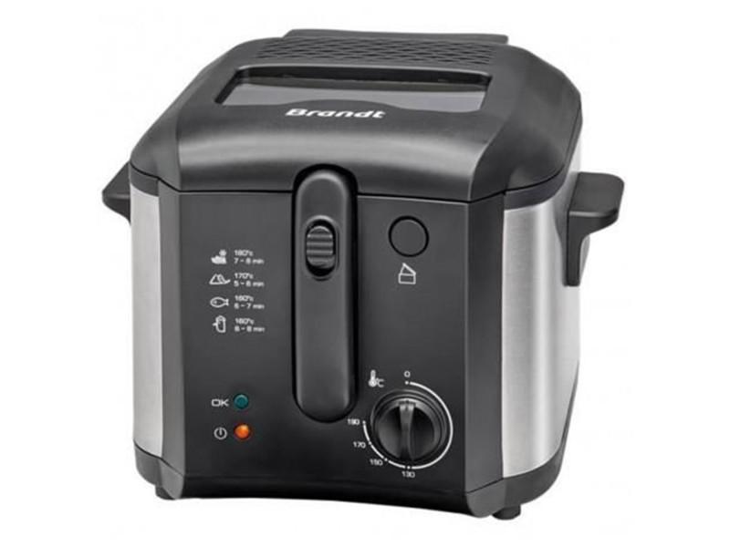 Friteuse 2,5l 1600w noir/inox - fri30x 5948