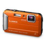 Panasonic lumix dmc-ft30 orange garanti 2 ans