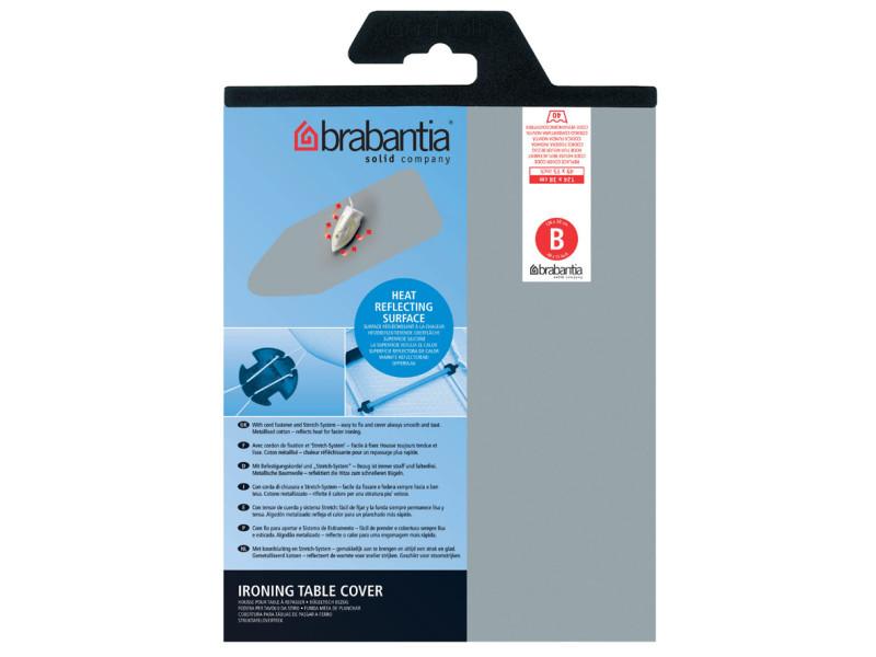 Brabantia housse b mousse silicone gris