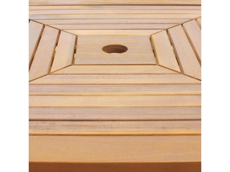 Icaverne - tables d'extérieur ligne table de bar d'extérieur bois d'acacia