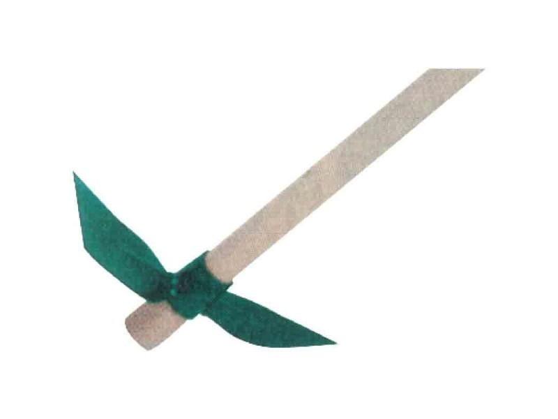 Cap vert - serfouette forgée panne et langue 26 cm emmanché BD-325974