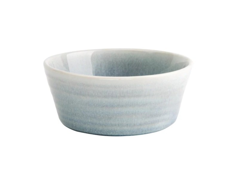 Bol rond 143 mm - 2 coloris - lot de 6 - olympia cavolo - 14,3 cm bleu cristallin porcelaine 53 cl