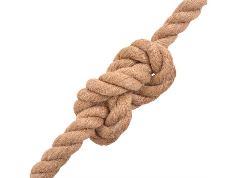 Icaverne - cordes et câbles de construction edition corde 100 % jute 14 mm 250 m