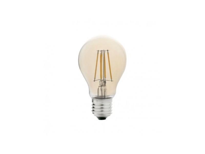 Ampoule décorative led e27 4w/35w 2200k standard filament