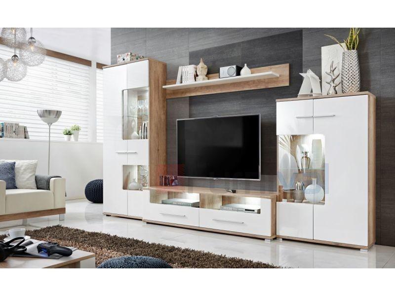 Ensemble Meuble Tv Design Vente De Meuble Tv Conforama
