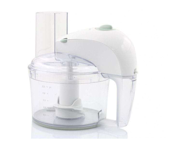 Philips hr 7605/10 - robot multi-fonctions - 350 watt - blanc avec une touche vert minéral PHILIPSHR7605
