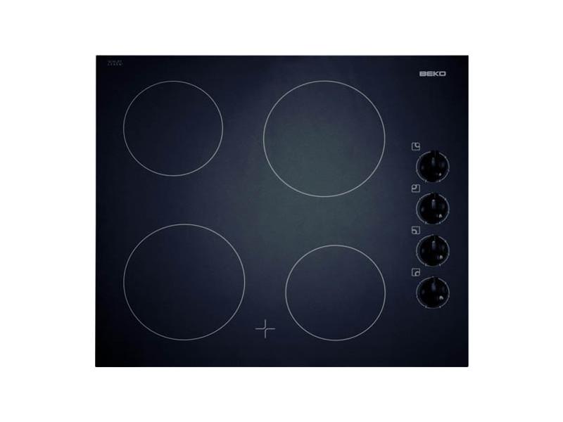 Beko hic 64100 plaque noir intégré (placement) plaque avec zone à induction 4 zone(s)