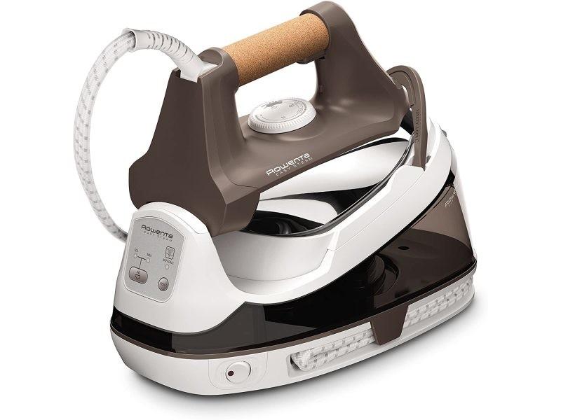 Centrale vapeur haute pression de 1,2l avec 5,5 bars 2200w blanc marron