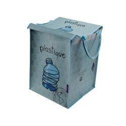 Bac a tri - plastique - bleu pâle