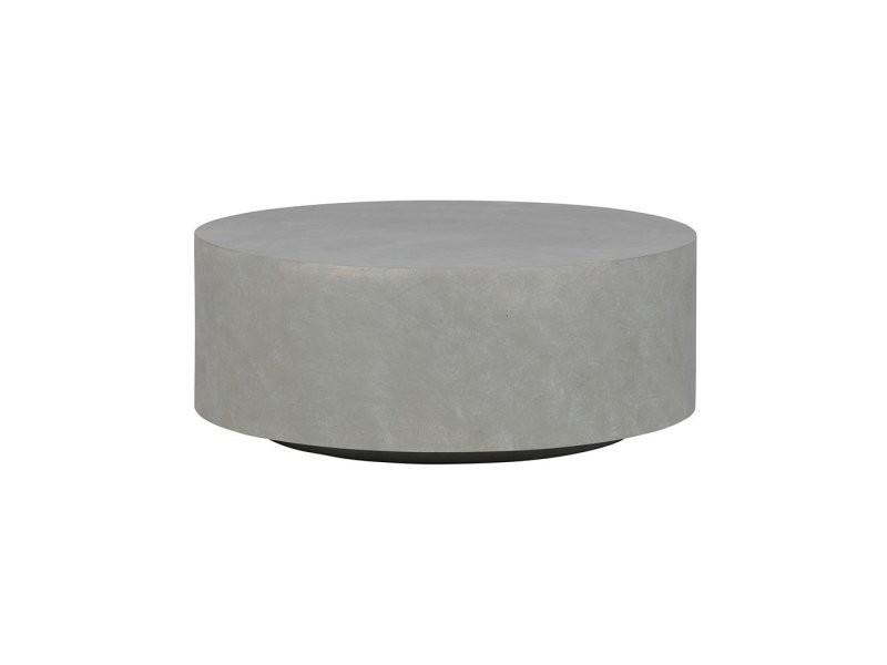 Table basse ronde en argile intérieur extérieur sino 375448-G