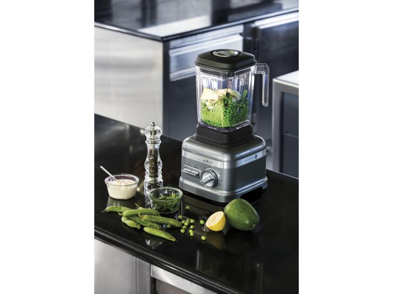 Blender mixeur électrique professionnel de 1,75l 1800w noir gris