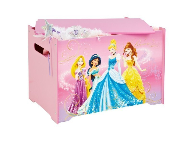 coffre jouets pour fille princesse disney conforama. Black Bedroom Furniture Sets. Home Design Ideas