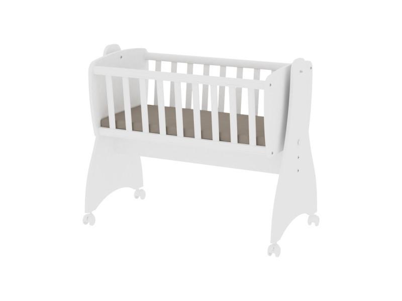 Berceau bébé lit évolutif mode bascule first dreams blanc 10150550024 vente de lorelli conforama