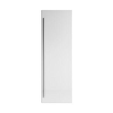 Armoire de rangement de garcia hauteur 120 cm blanc brillant - meuble de rangement haut placard ...
