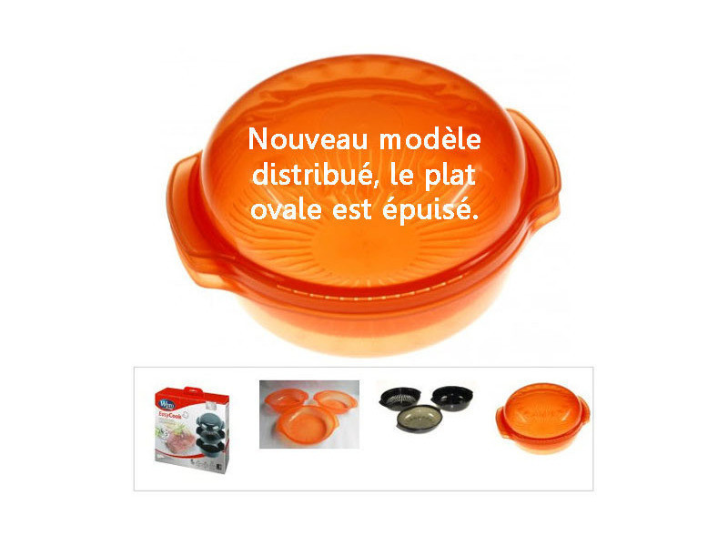 Plat vapeur rond 1.5 l mo reference : 482000006102