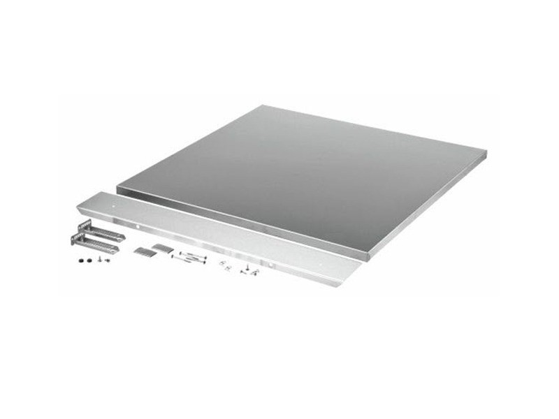 Kit facade de porte inox pour lave vaisselle pour installation bosch - 00681729